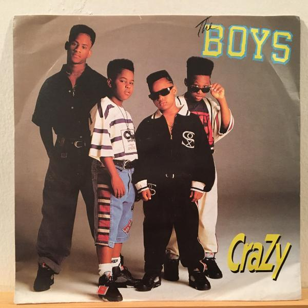 ☆The Boys/Crazy☆R&B NEW JACK SWING名曲!7inch 45_画像1