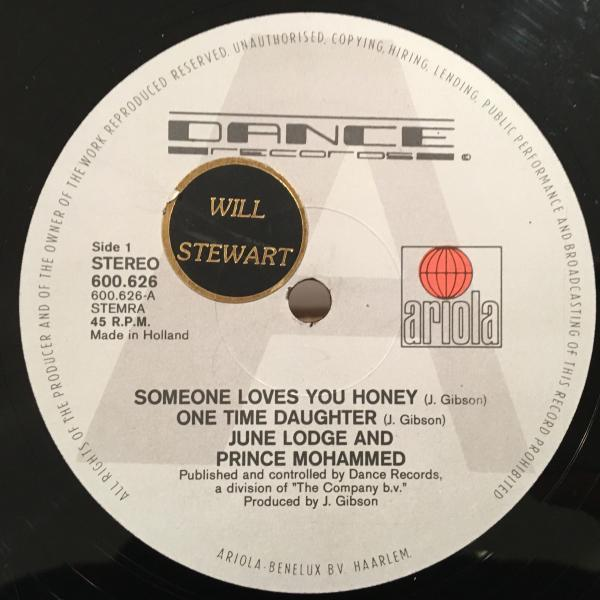 ★June Lodge/Someone Loves You Honey★人気LOVERS ROCK!