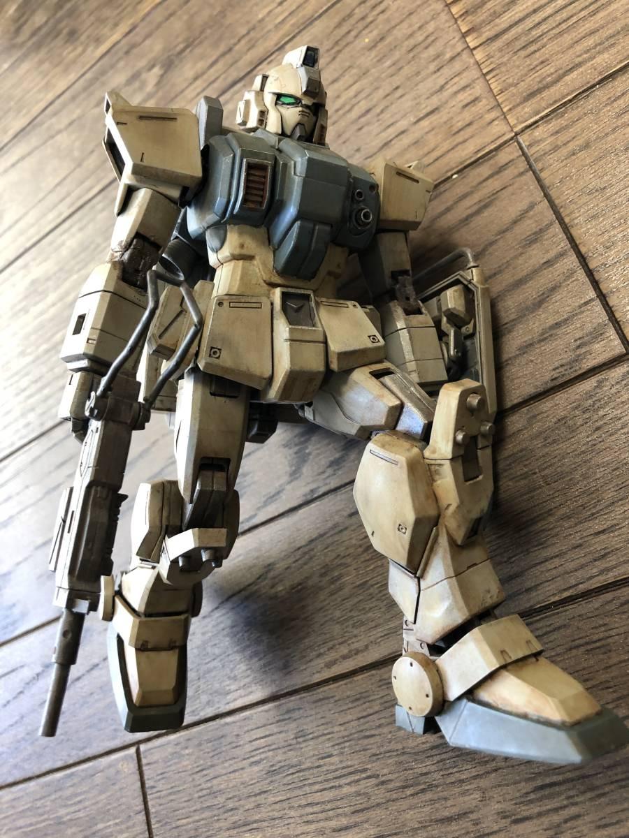 MG 陸戦型ガンダム 塗装済み完成品【ジャンク】_画像7