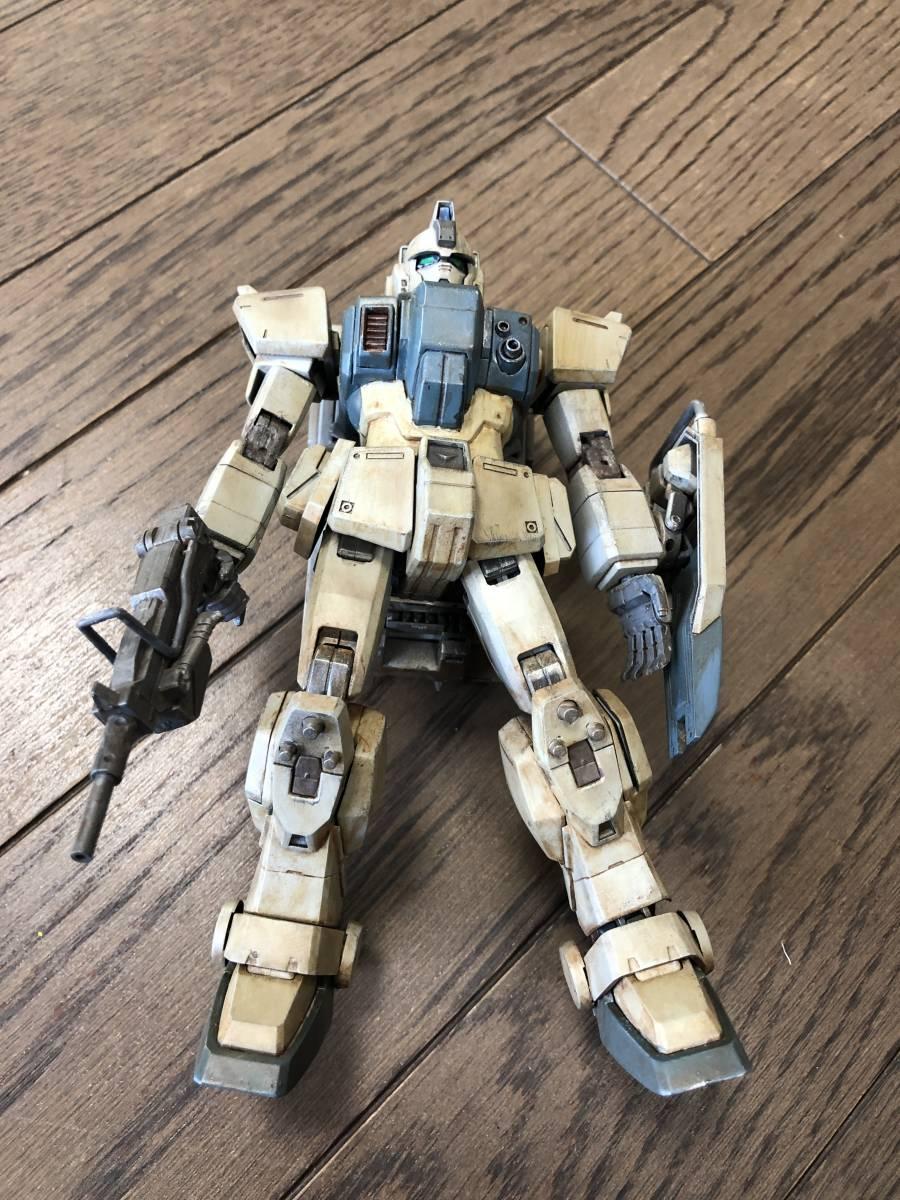 MG 陸戦型ガンダム 塗装済み完成品【ジャンク】_画像6