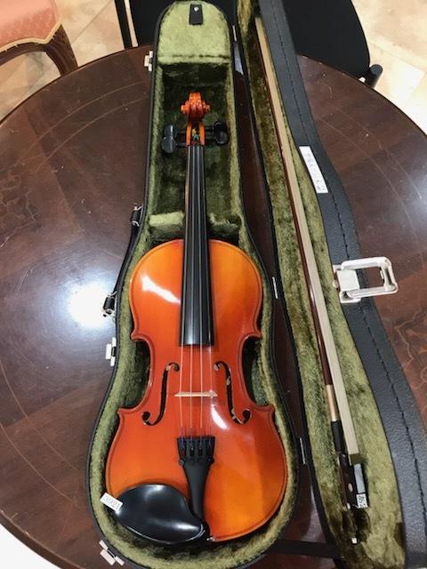 スズキバイオリンNo.280 3/4 1987年製 完全整備済!本体超美品!お得なセットバイオリンです!オークション限定特別価格にて!!