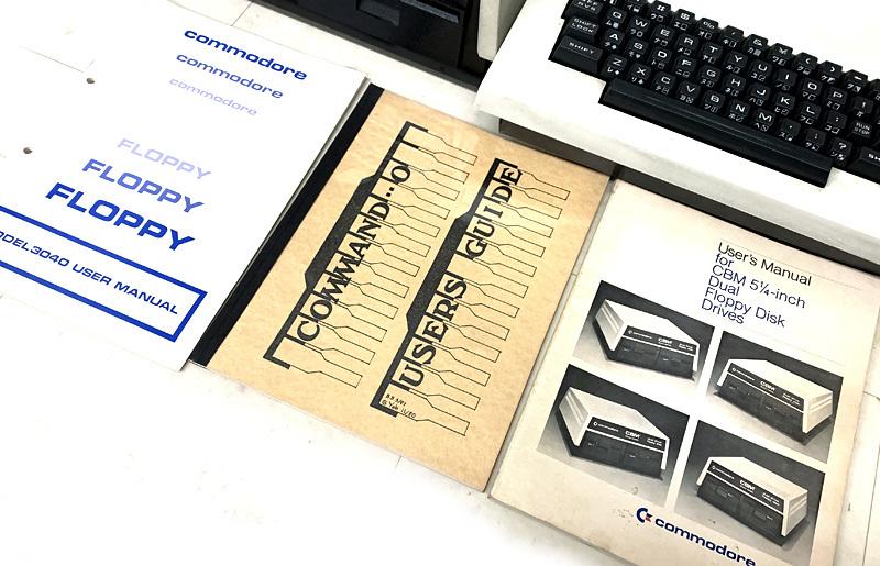 ■commodore CBM Model 4032 コンピューター Model 4040 フロッピードライブ コモドール■_画像5