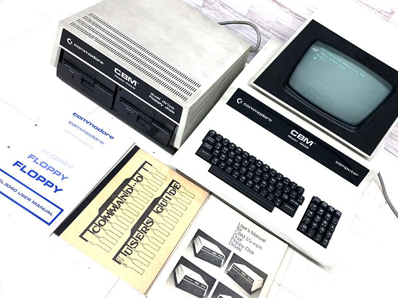 ■commodore CBM Model 4032 コンピューター Model 4040 フロッピードライブ コモドール■