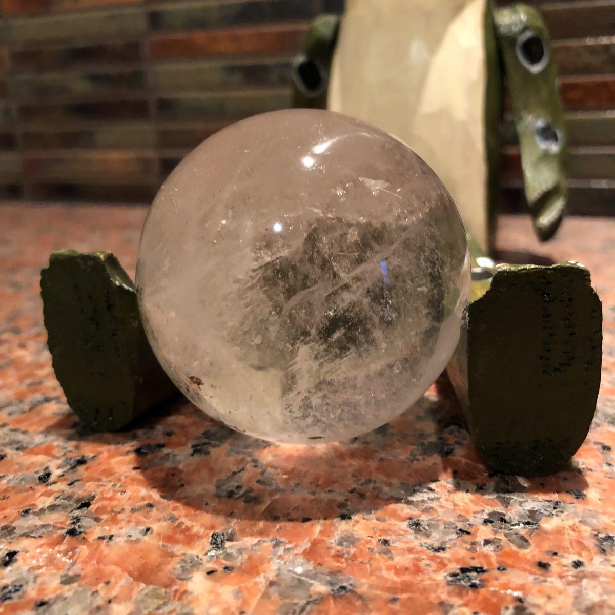 本水晶玉 5.5センチ_画像8