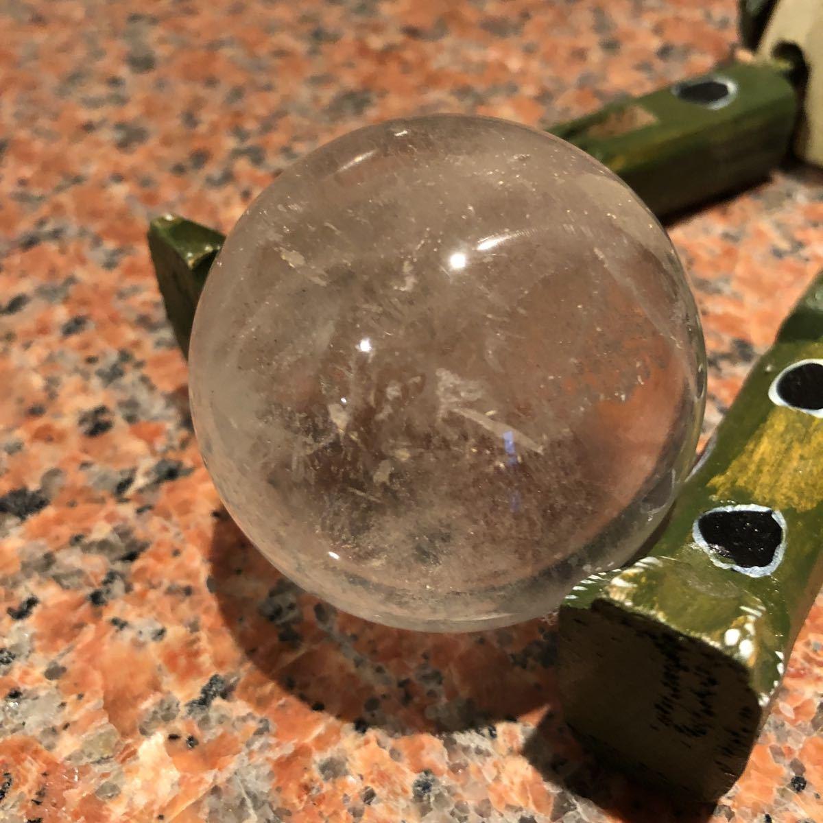 本水晶玉 5.5センチ_画像4