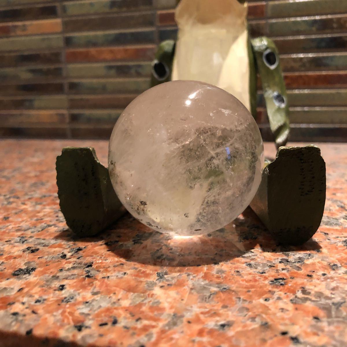 本水晶玉 5.5センチ_画像6