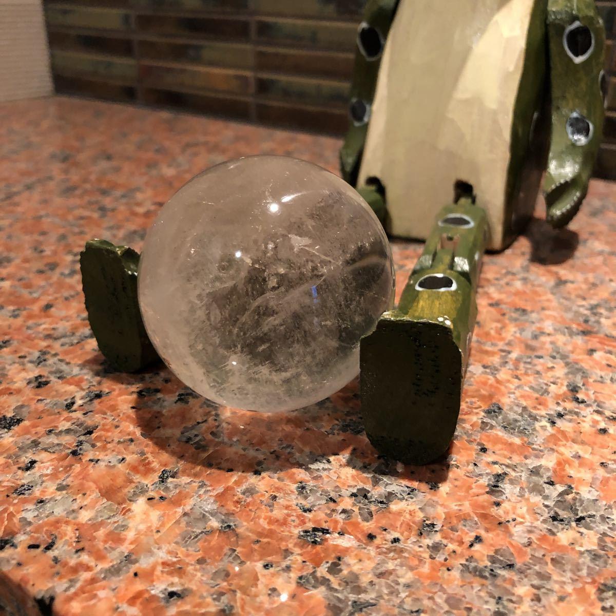 本水晶玉 5.5センチ_画像7
