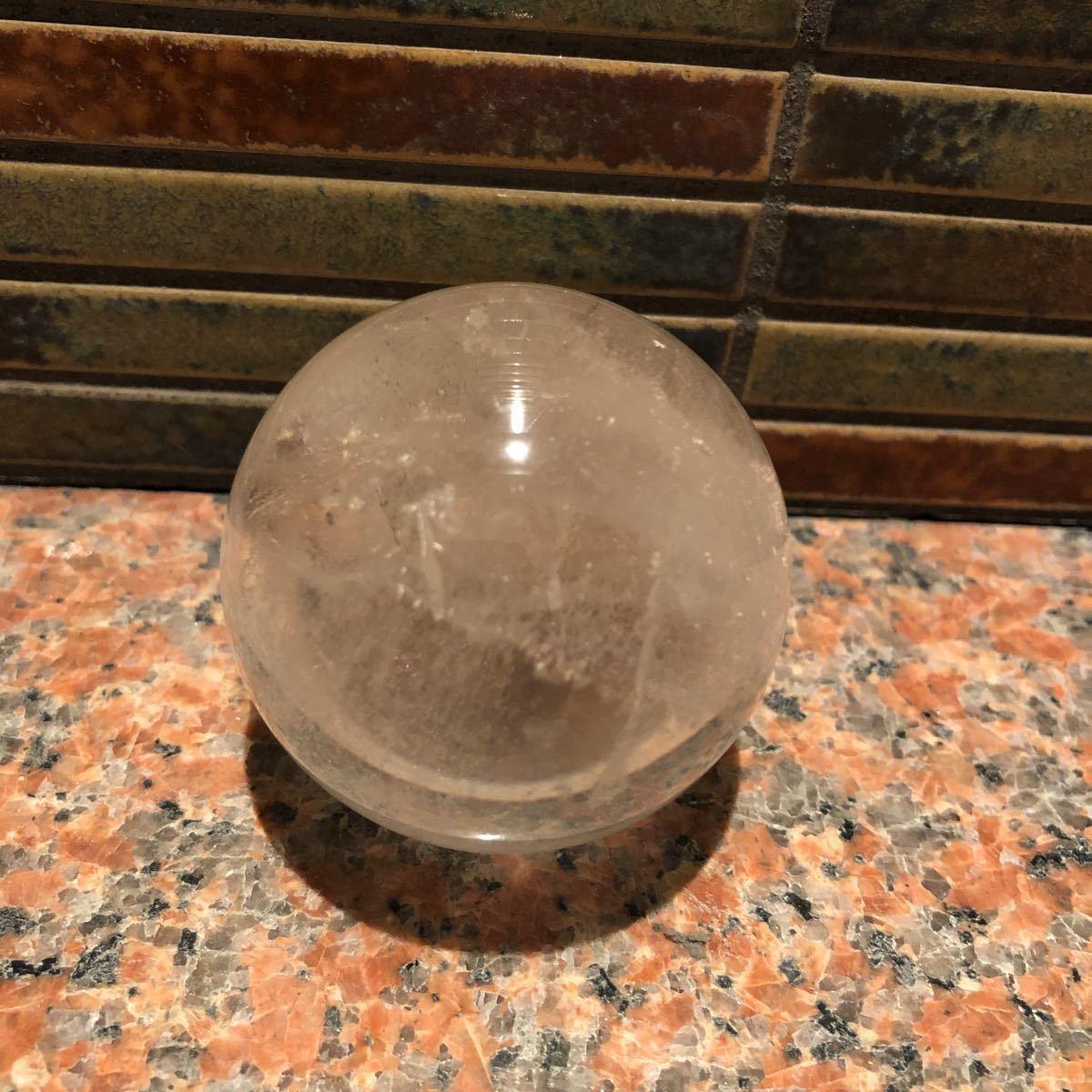 本水晶玉 5.5センチ_画像2