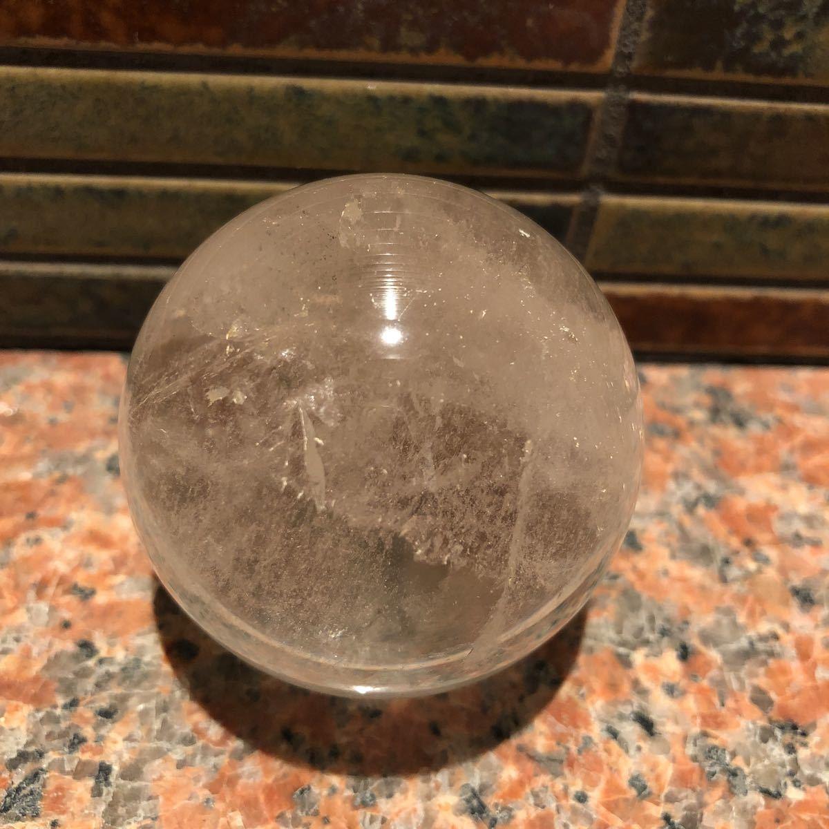 本水晶玉 5.5センチ_画像1