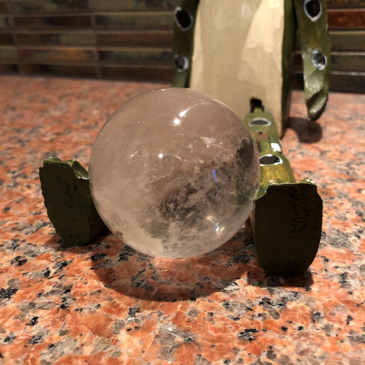 本水晶玉 5.5センチ_画像5