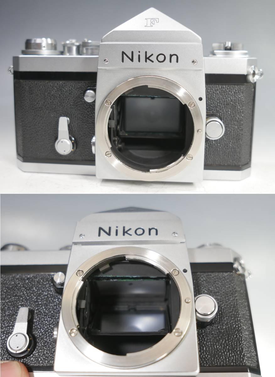 ◆Nikon【F アイレベル】+レンズ【NIKKOR-S Auto 1:1.4 f=50mm】革ケース付属 ニコン_画像8