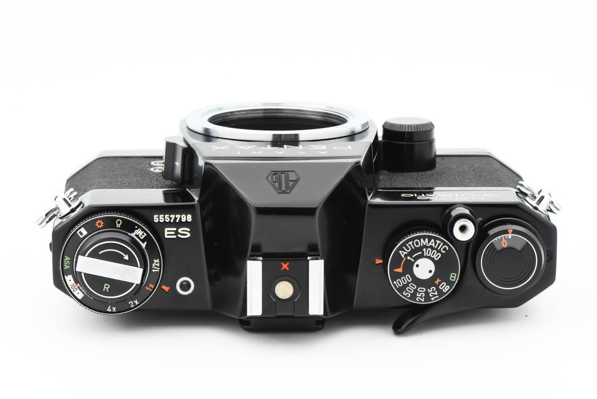【美品】 PENTAX ペンタックス SPOTMATIC ES 35mm 一眼レフ フィルム カメラ SMC TAKUMAR 50mm f/1.4 レンズ_画像5