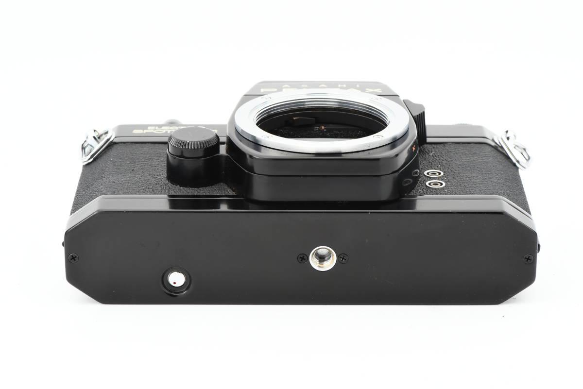 【美品】 PENTAX ペンタックス SPOTMATIC ES 35mm 一眼レフ フィルム カメラ SMC TAKUMAR 50mm f/1.4 レンズ_画像4
