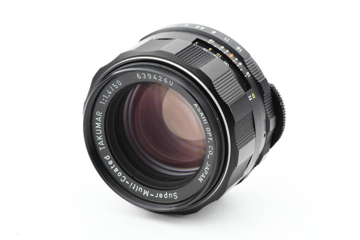 【美品】 PENTAX ペンタックス SPOTMATIC ES 35mm 一眼レフ フィルム カメラ SMC TAKUMAR 50mm f/1.4 レンズ_画像8