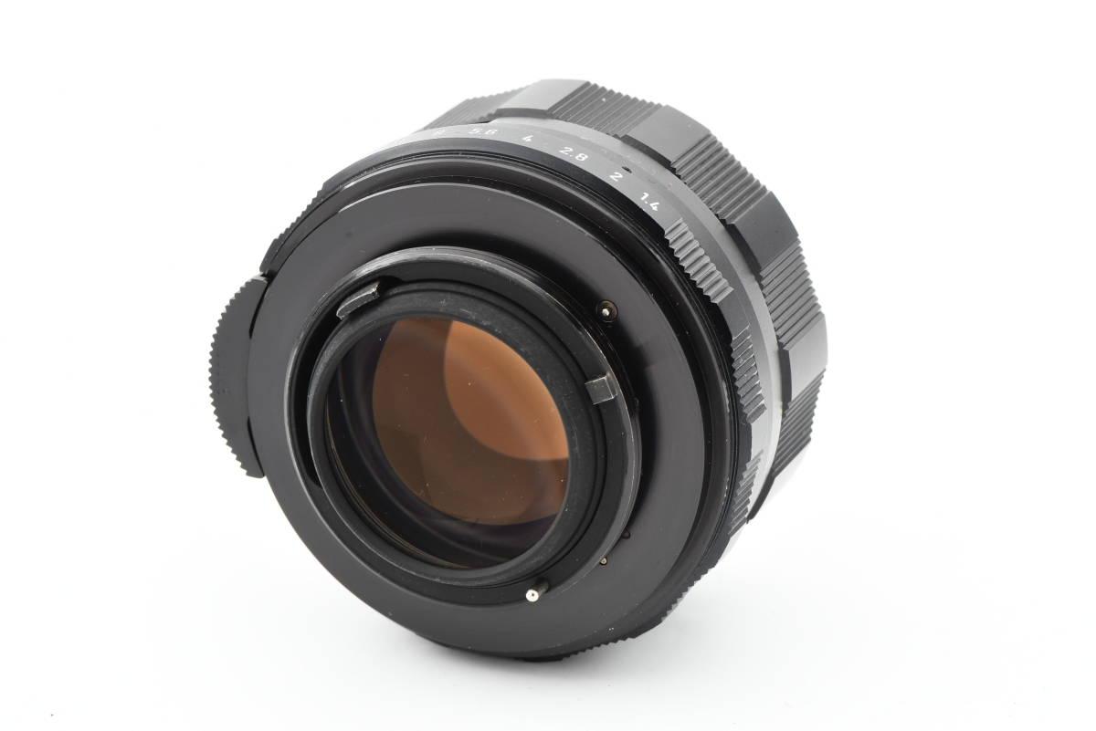 【美品】 PENTAX ペンタックス SPOTMATIC ES 35mm 一眼レフ フィルム カメラ SMC TAKUMAR 50mm f/1.4 レンズ_画像9