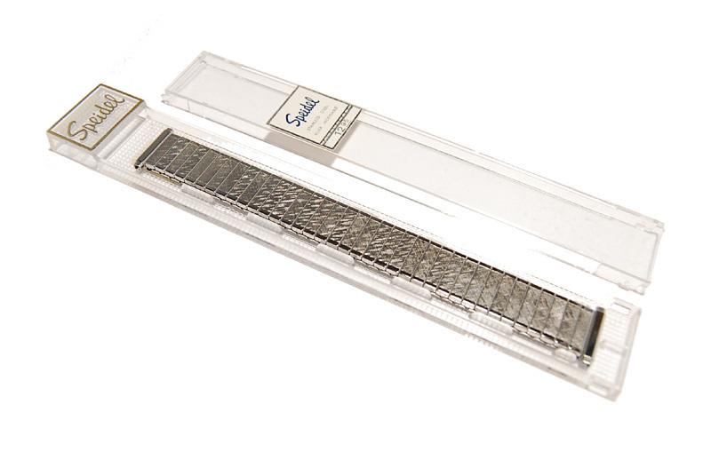 【Speidel】USA 伸縮時計バンド 16-19㎜ 男性腕時計ブレス ステンレススール エクスパンション ヴィンテージ 金属ベルト MB403_画像8