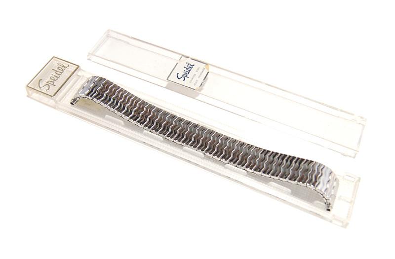 【Speidel】USA アメリカ 当時もの ウォッチバンド 伸縮ブレス 16-19mm メンズ腕時計金属ベルト ビンテージウォッチに MB446_画像7