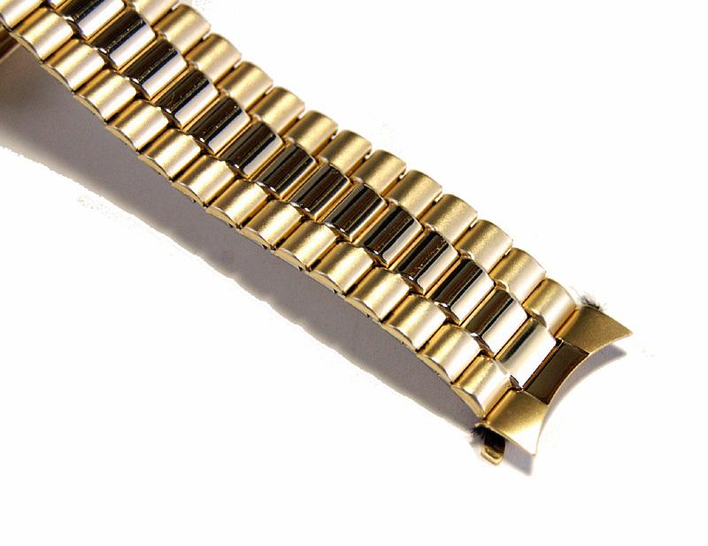 【Speidel】USA アメリカ 当時もの ウォッチバンド 20mm 伸縮ブレス メンズ腕時計金属ベルト ビンテージウォッチに MB453_画像4