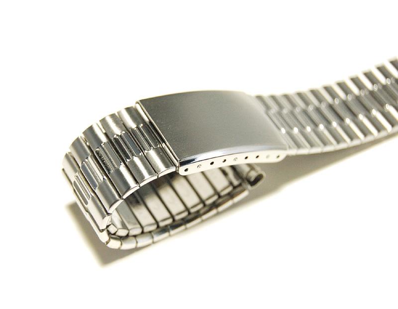 【Speidel】USA メンズウォッチ伸縮バンド 15-18mm 腕時計ベルト ステンレススチール ブレス 当時もの ビンテージ MB424_画像5