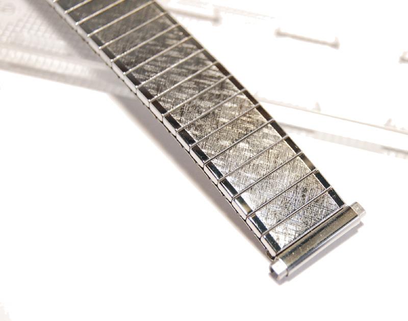 【Speidel】USA 伸縮時計バンド 16-19㎜ 男性腕時計ブレス ステンレススール エクスパンション ヴィンテージ 金属ベルト MB403_画像7