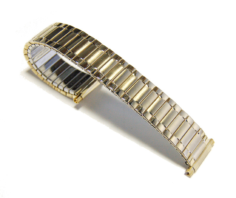 【Speidel】USA 伸縮ブレス 17-22mm 腕時計金属ベルト メンズウォッチ用バンド 当時もの アメリカ ヴィンテージ/ビンテージ MB430_画像6