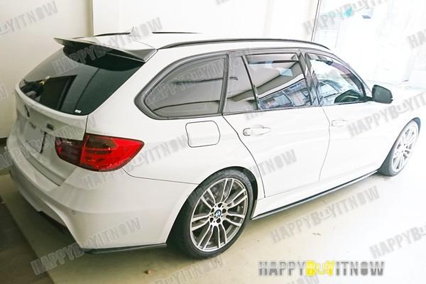 BMW 3シリーズ F31 ツーリング 専用 リア ルーフエンドスポイラー 艶あり黒 限定色 塗装 2013+_画像4