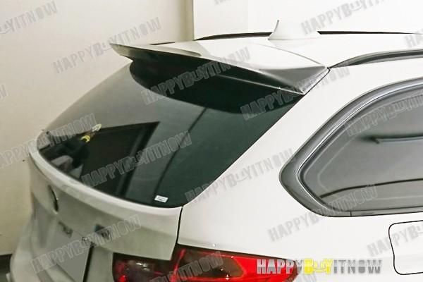 BMW 3シリーズ F31 ツーリング 専用 リア ルーフエンドスポイラー 艶あり黒 限定色 塗装 2013+_画像3