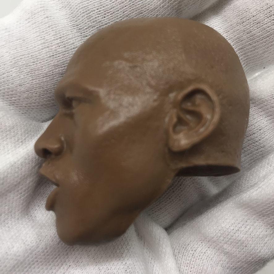 送料無料 1/6 DIY ヘッド 手作り 未塗装男性ヘッド マイケル・ジョーダン 番号B44_画像2