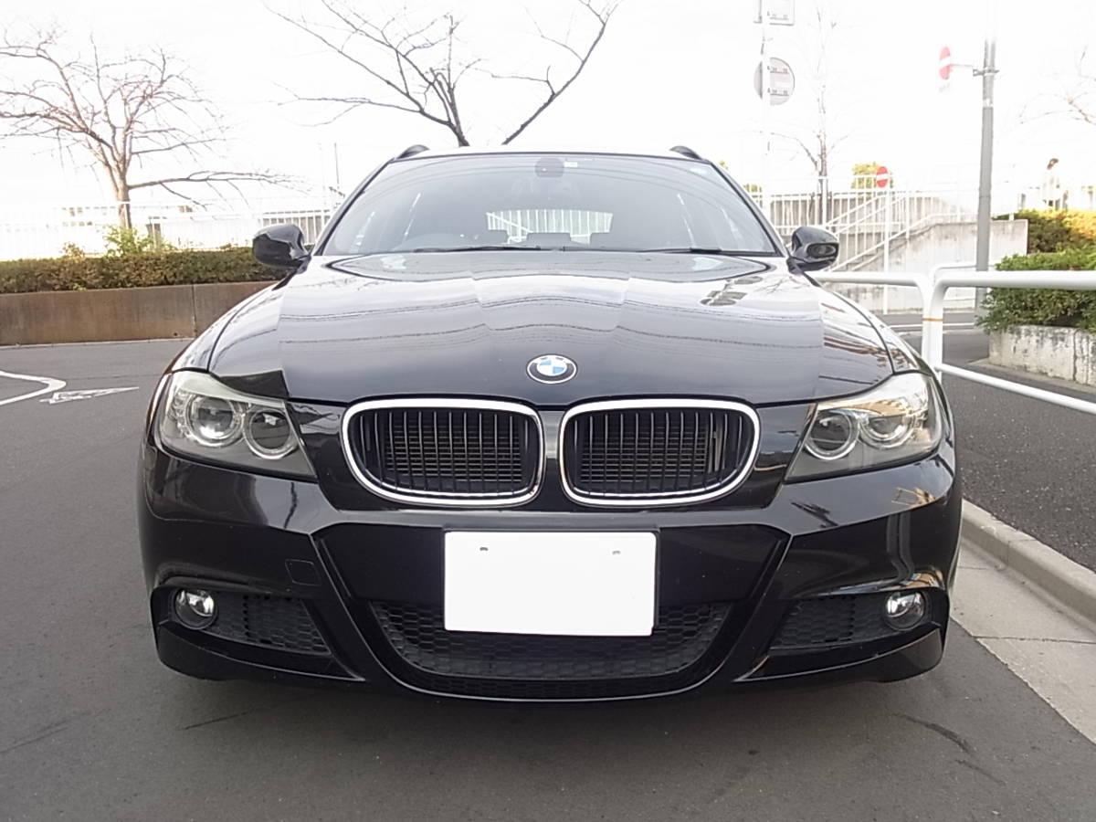 【完全売切り・23年式】 BMW 320i ツーリング Mスポーツ LCI 最終型 ワンオーナー 純正I-Driveナビ コンフォートアクセス 車検32年9月★_画像3
