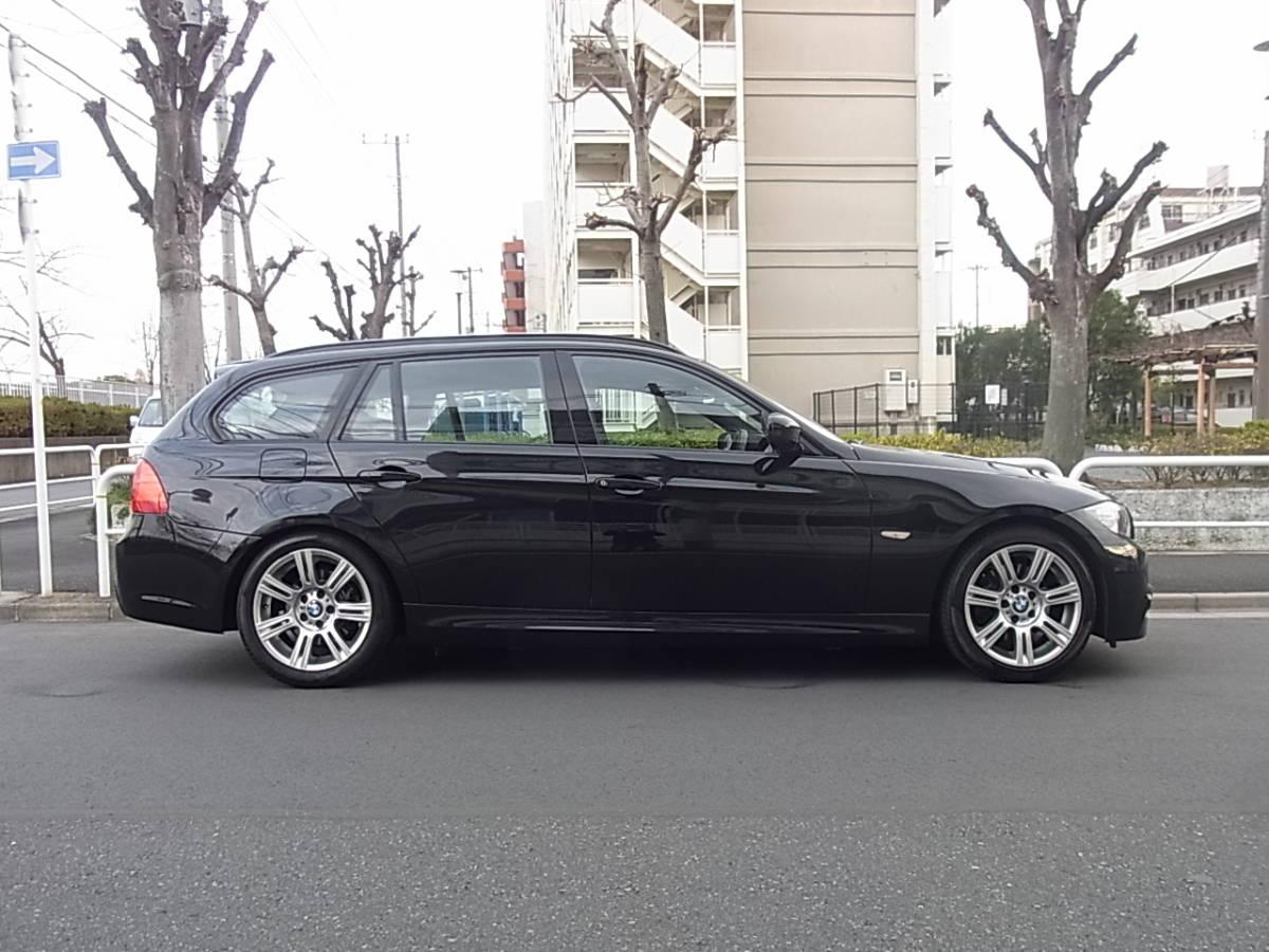 【完全売切り・23年式】 BMW 320i ツーリング Mスポーツ LCI 最終型 ワンオーナー 純正I-Driveナビ コンフォートアクセス 車検32年9月★_画像5