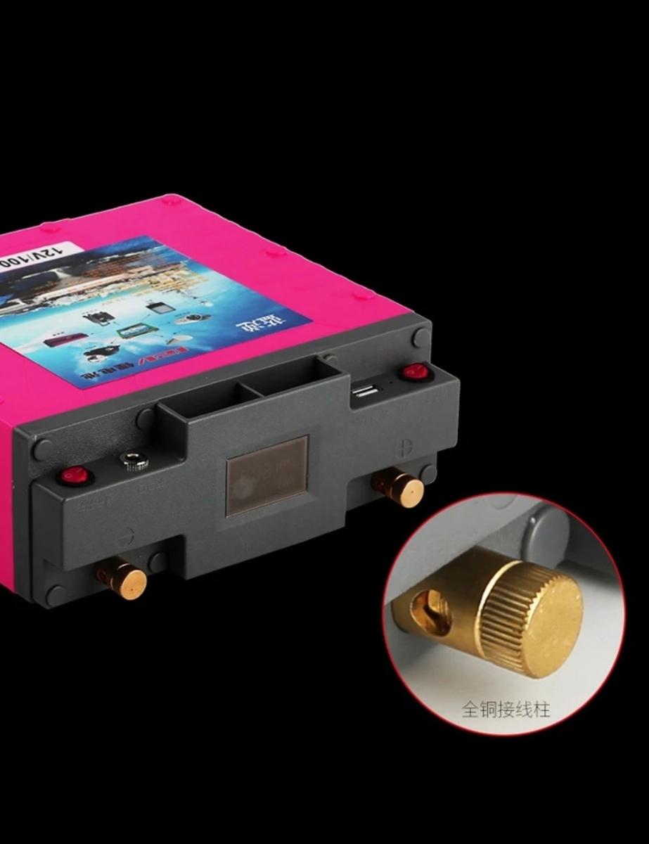 新品!12v100Ah、3,4kg 高性能バッテリ、リチウムイオンバッテリー 未充電、未接続!_画像5