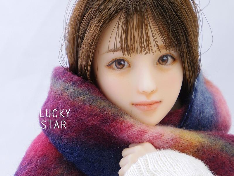 【LUCKY STAR】 1/6カスタムドールヘッド「 悠香 ゆうか 」
