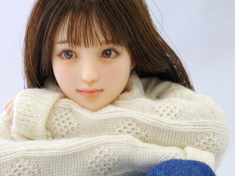 【LUCKY STAR】 1/6カスタムドールヘッド「 悠香 ゆうか 」_画像5