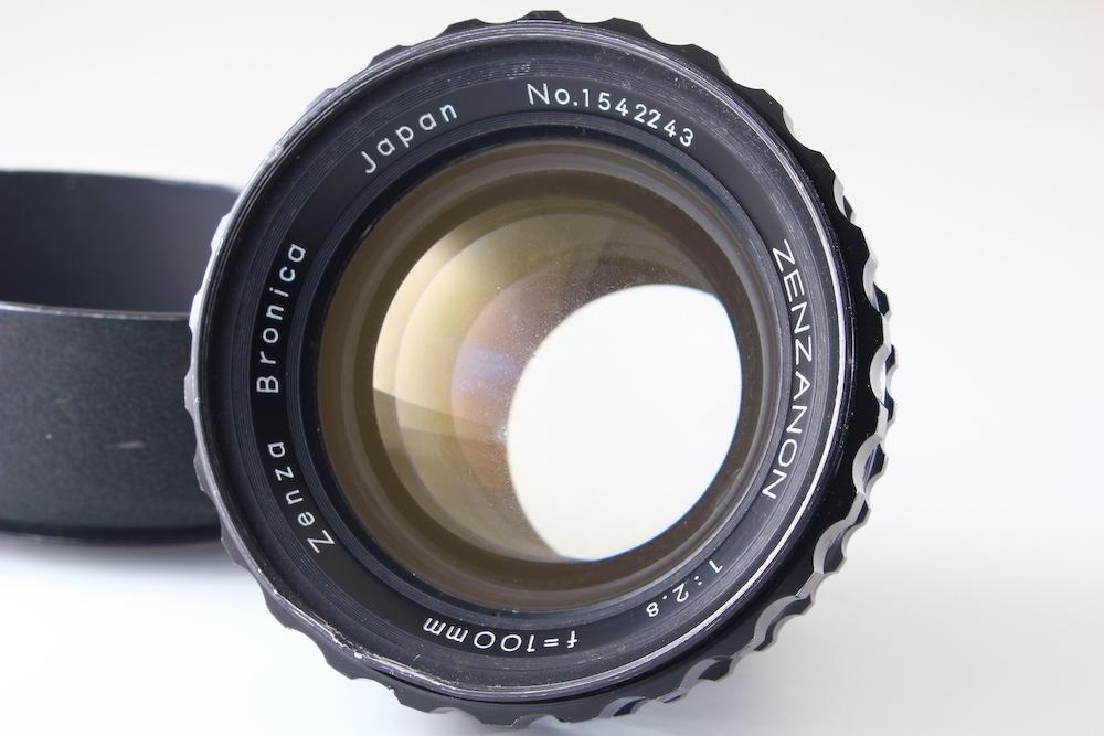 [C品] ZENZA BRONICA ZENZANON 100mm F2.8*ゼンザブロニカ EC S2*3207_画像1