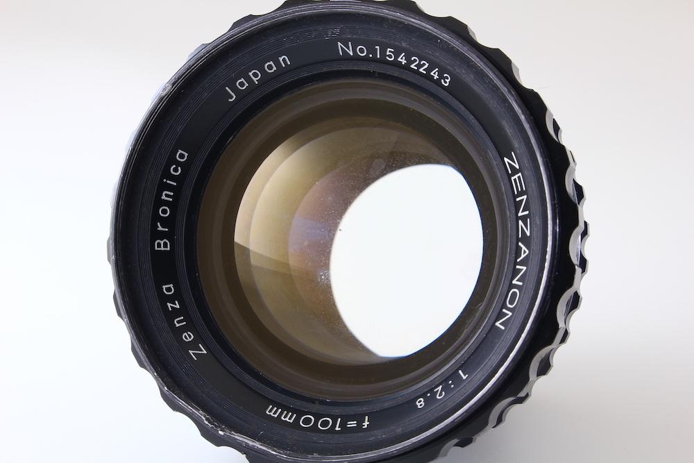 [C品] ZENZA BRONICA ZENZANON 100mm F2.8*ゼンザブロニカ EC S2*3207_画像2