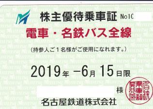 ◆最新 名古屋鉄道 電車・バス全線乗車証