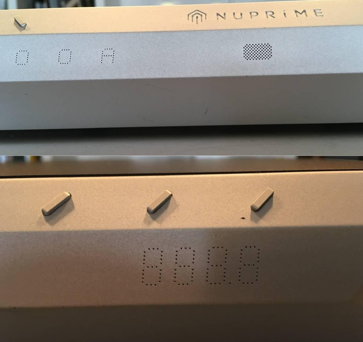 【良品】NuPrime IDA-16 Integrated Amplifier 30万円以下のプリメインでは出色の出来! D級らしからぬ太い音と澄んだ音の両立は見事!_画像4