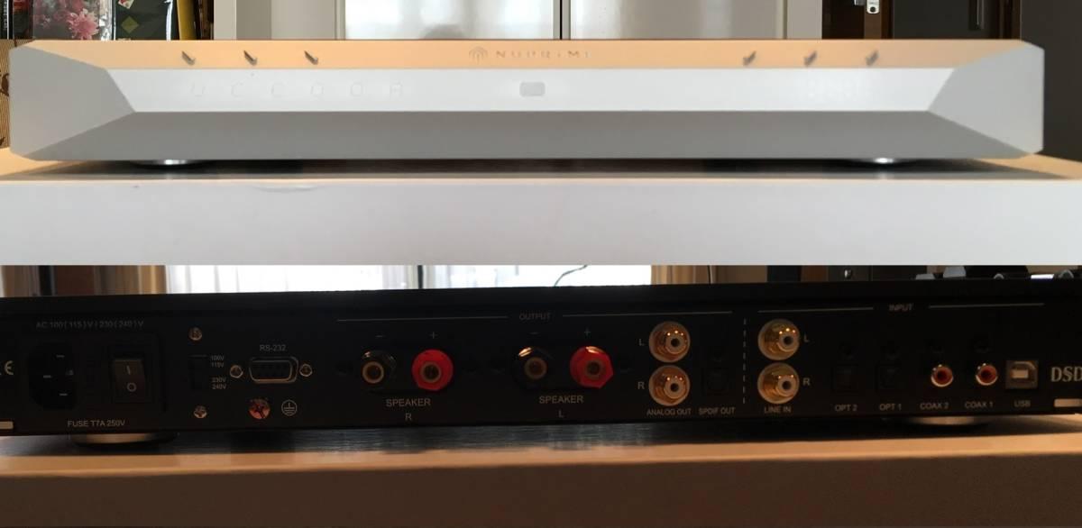 【良品】NuPrime IDA-16 Integrated Amplifier 30万円以下のプリメインでは出色の出来! D級らしからぬ太い音と澄んだ音の両立は見事!_画像3
