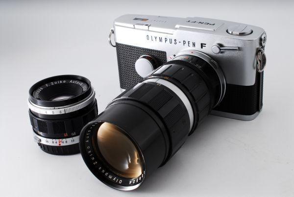 OLYMPUS オリンパス PEN FT F.Zuiko 38mm F1.8 50-90mm F3.5 付属品充実★_画像3