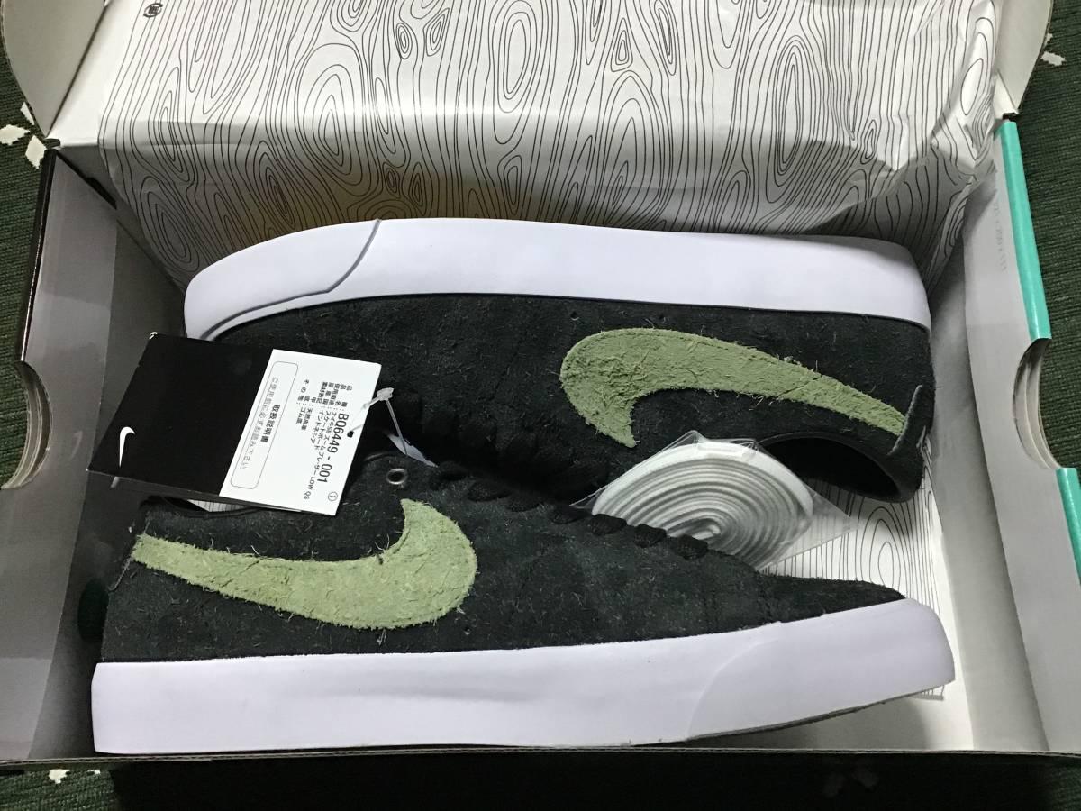 26 5 新品 国内正規 Stussy Nike Sb Zoom Blaz ヤフオク