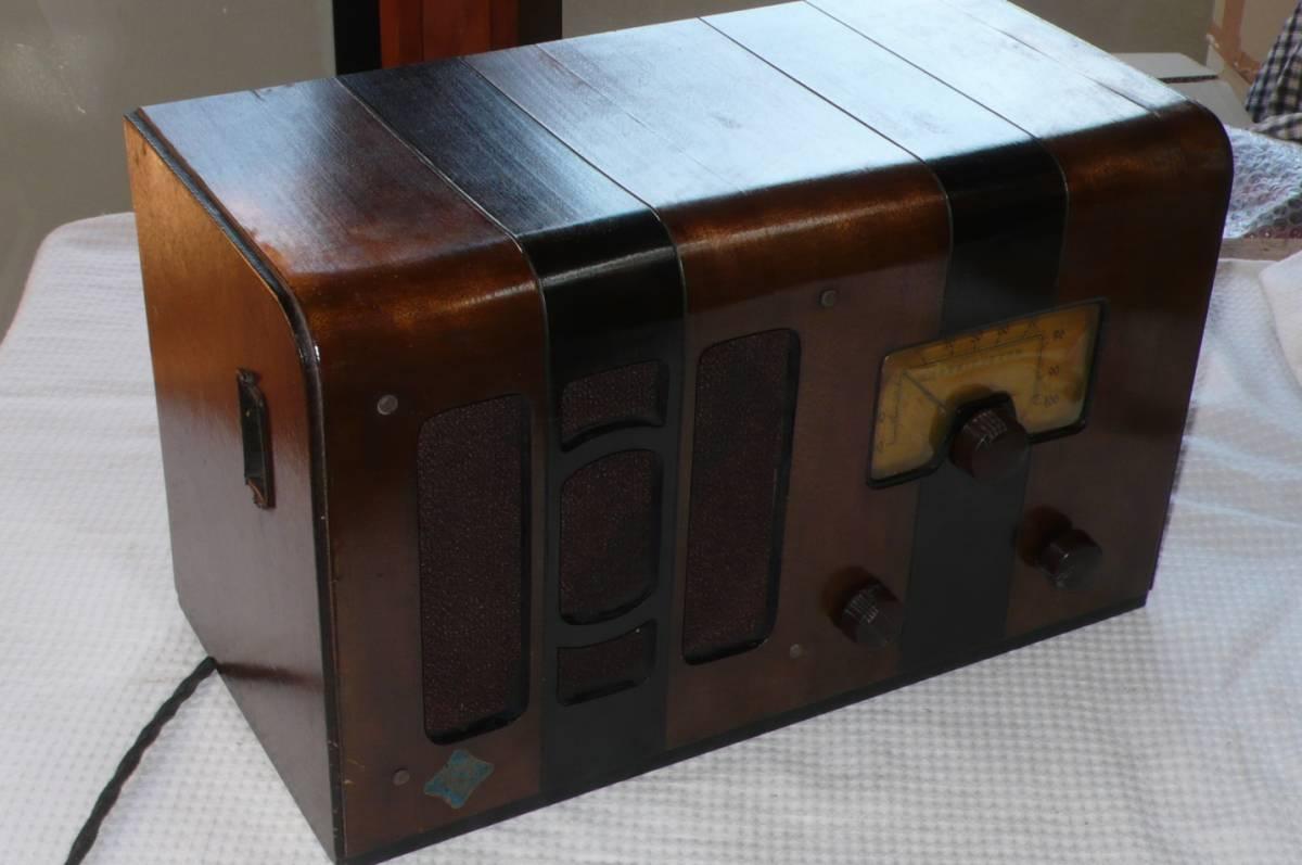 タイガー電機 放送局型第123號受信機 整備品_画像2
