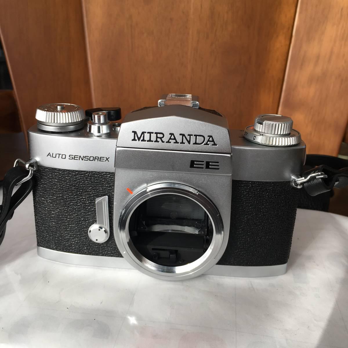 MIRANDA EE AUTO SENSOREX カメラ ボディのみ 中古 ジャンク扱い_画像2
