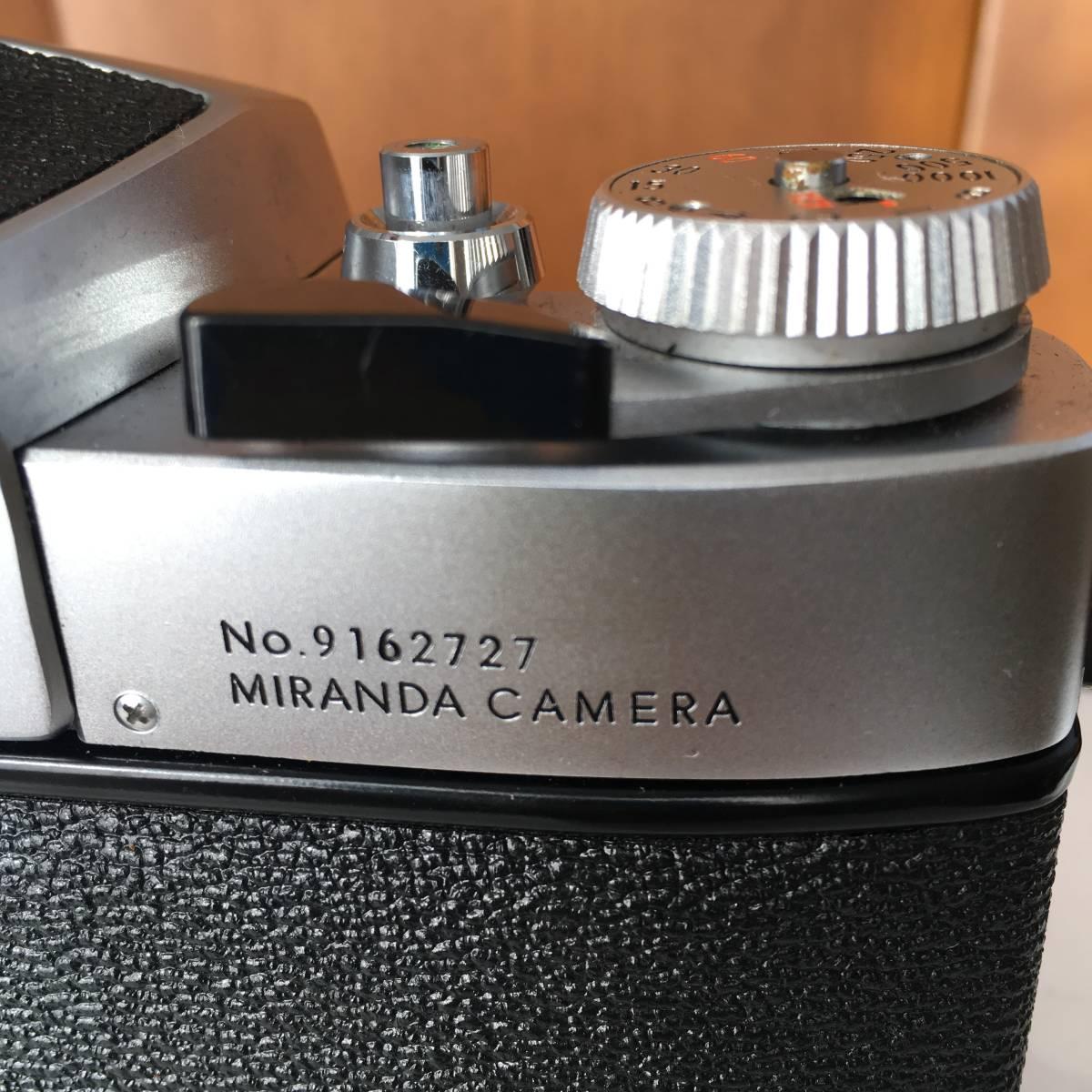 MIRANDA EE AUTO SENSOREX カメラ ボディのみ 中古 ジャンク扱い_画像7