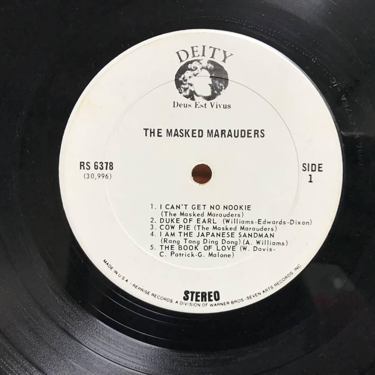 The Masked Marauders - The Masked Marauders/ US ORIGINAL/マト1