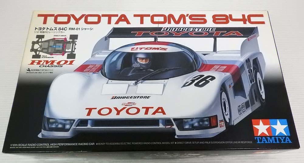not yet constructed * inside sack unopened Tamiya Toyota TOM