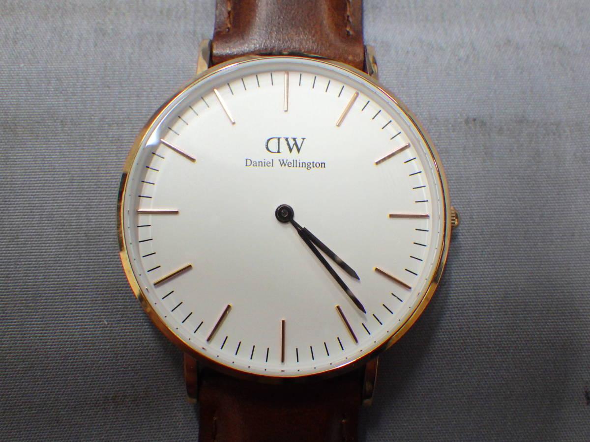 ■ダニエルウェリントン DW00100035 36ミリ 腕時計 №646■