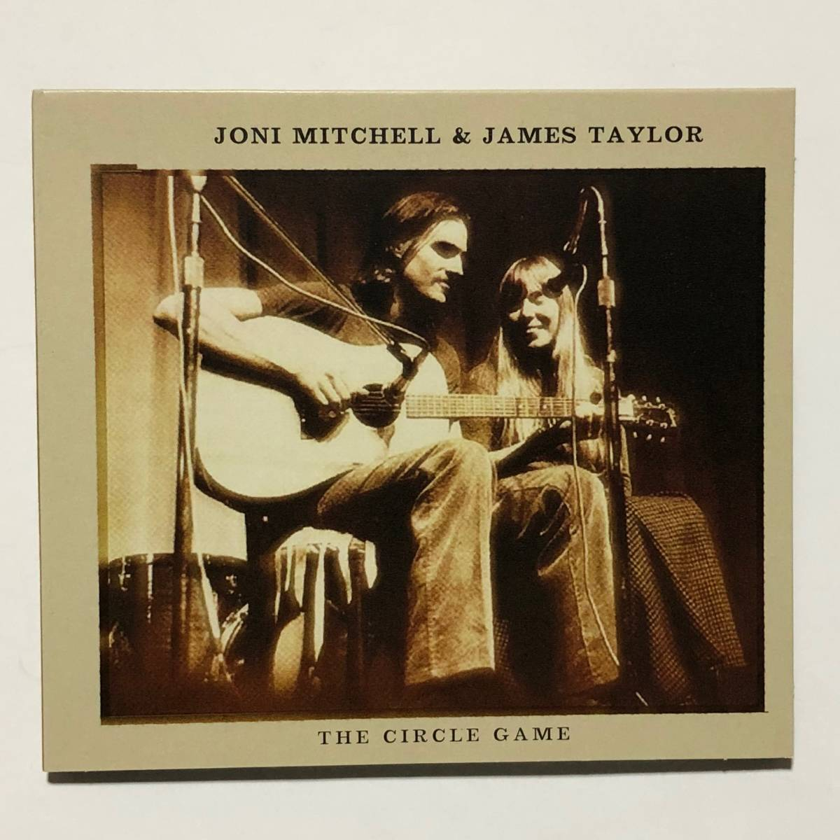 ◆◇◆ Joni Mitchell & James Taylor ジョニ・ミッチェル & ジェイムス・テイラー / The Circle Game CD, Import