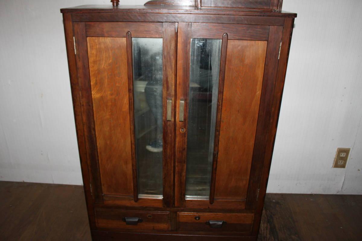 ! old . pavilion. antique storage shelves / Taisho * cupboard *book@ box * bookcase