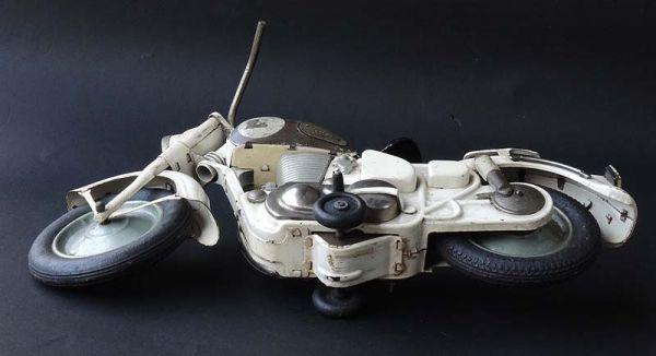 ≫白犬≪ ≫ オートバイ メグロ 白  長さ約30cm ≪_画像9
