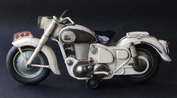≫白犬≪ ≫ オートバイ メグロ 白  長さ約30cm ≪_画像6